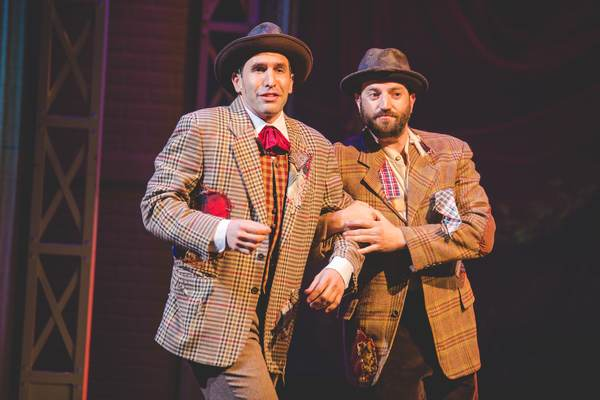 Photos: First Look at AMERIKE - THE GOLDEN LAND at National Yiddish Theatre Folksbiene