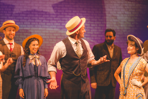Photo Flash: First Look at AMERIKE - THE GOLDEN LAND at National Yiddish Theatre Folksbiene