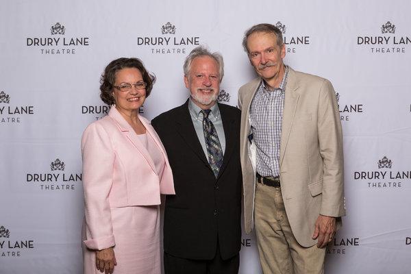 Paula Scrofano, director Ross Lehman, and John Reeger