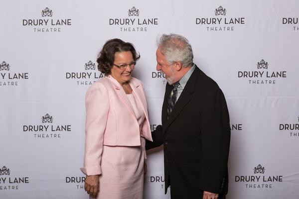 Paula Scrofano and Ross Lehman