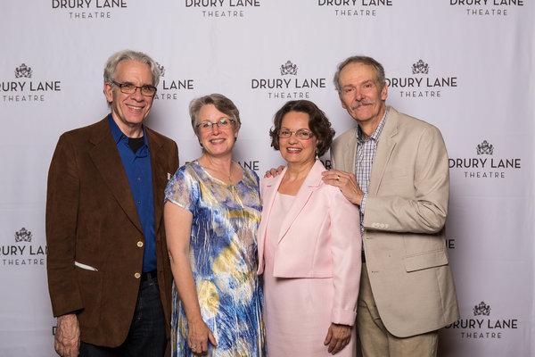 Photo Flash: THE GIN GAME Celebrates Opening Night at Drury Lane Theatre