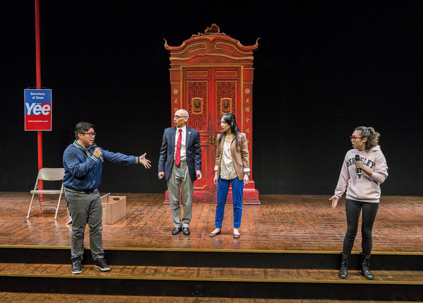 Photo Flash: First Look at KING OF THE YEES, Opening This Weekend at the Douglas