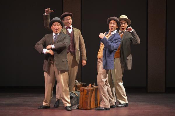 Phil Wong, James Seol, Hansel Tan and Sean Fenton