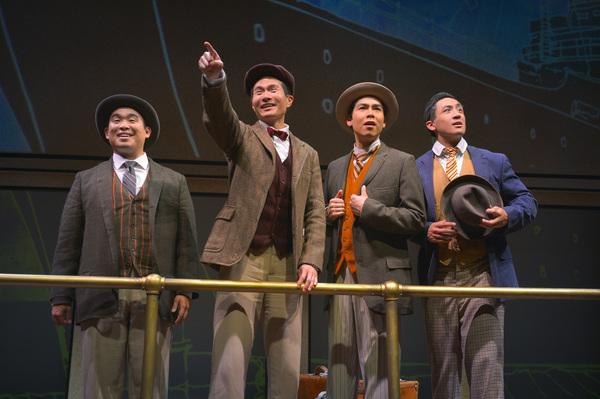 Phil Wong, James Seol, Sean Fenton, and Hansel Tan
