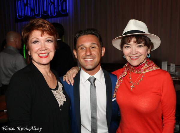 Donna McKechnie, Nicolas King, and Linda Hart