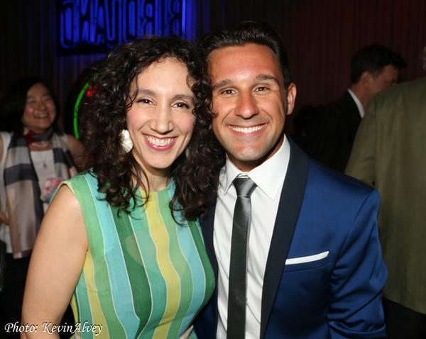 Gabrielle Stravelli and Nicolas King