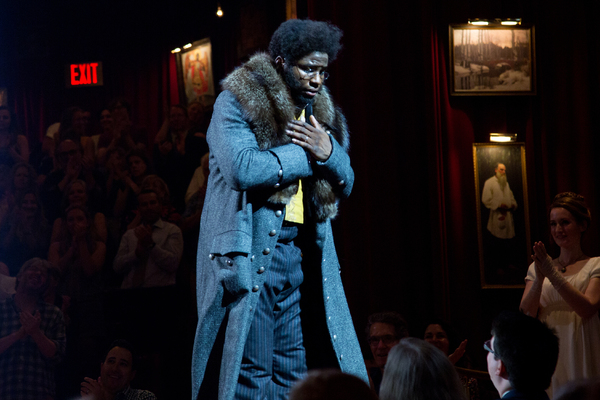 Photo Coverage: Okieriete 'Oak' Onaodowan Takes First Bows in THE GREAT COMET!