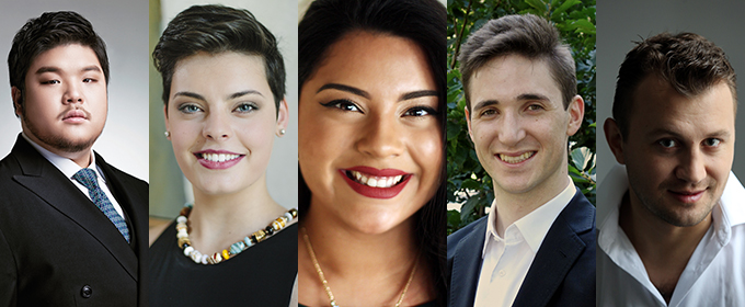 Five Talents Join Metropolitan Opera's Young Artists Development Program