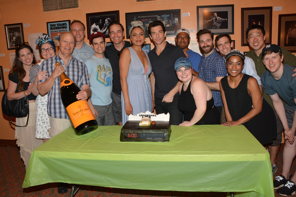 Photo Coverage: It's Blue Skies for GROUNDHOG DAY on Its 100th Broadway Performance