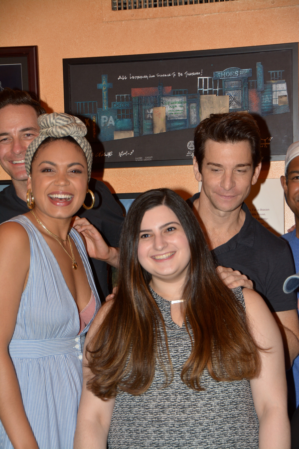 Barrett Doss and Andy Karl, Dina Jawetz