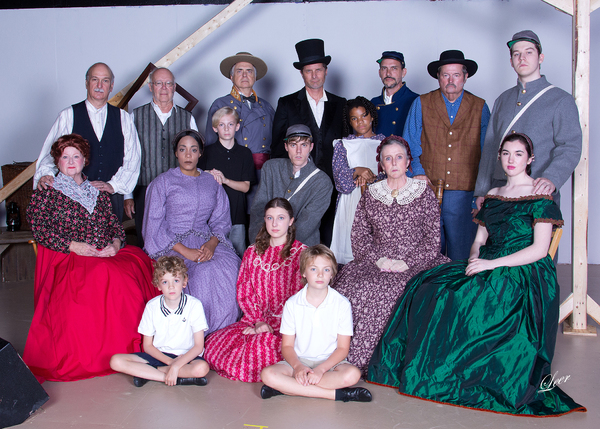 Photo Flash: CIVIL WAR VOICES Opens Tomorrow at Gettysburg Community Theatre