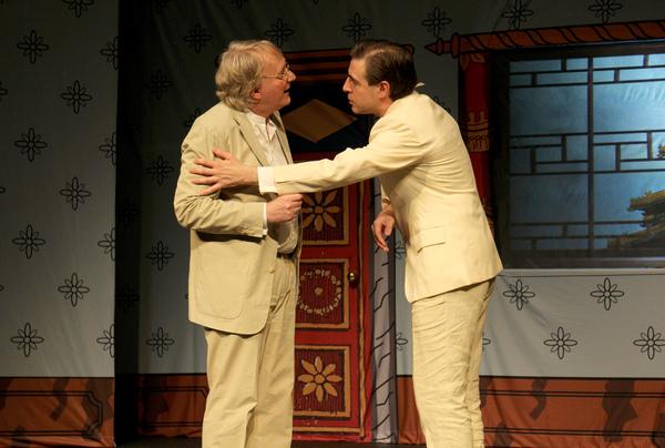 Steve Nallon and Mark Farrelly