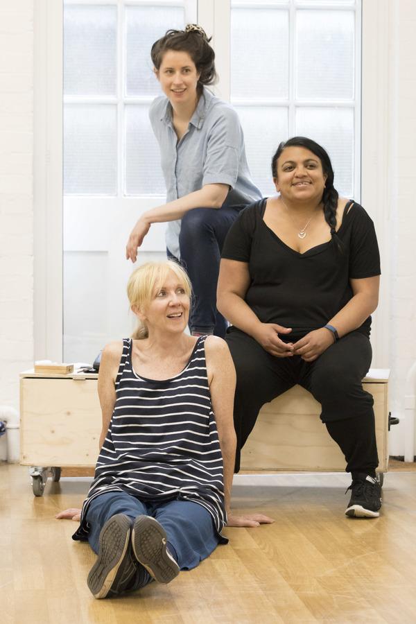 Liz Crowther, Caroline Byrne, and Rina Fatania Photo