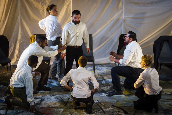 Photo Flash: First Look at The Gallery Players' High-Voltage JULIUS CAESAR in Park Slope