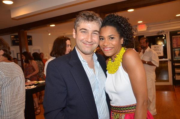 Scott Schwartz and Kelly McCreary
