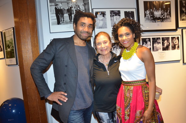 Photo Flash: INTIMATE APPAREL, Starring Kelly McCreary, Celebrates Opening Night at Bay Street Theater