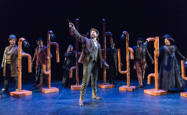Photo Flash: It's Love in the Time of Dystopia! First Look at THE TIME MACHINE at NYMF