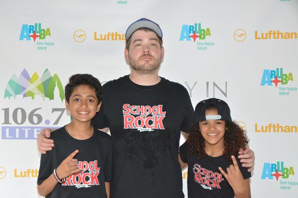 Jonathan Wagner with Raghav Mehrotra and Gianna Harris
