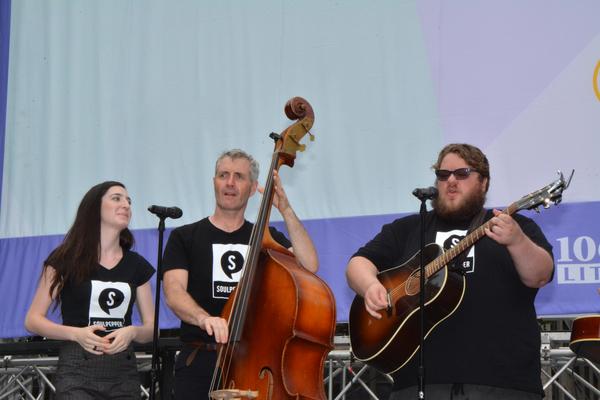 Hailey Gillis, Brendan Wall and Daniel Williston Photo