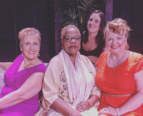 Mary Paolino (Blanche), Michelle L. Walker (Dorothy), Megan Ruggiero (Sophia), Mary V. Case (Rose)