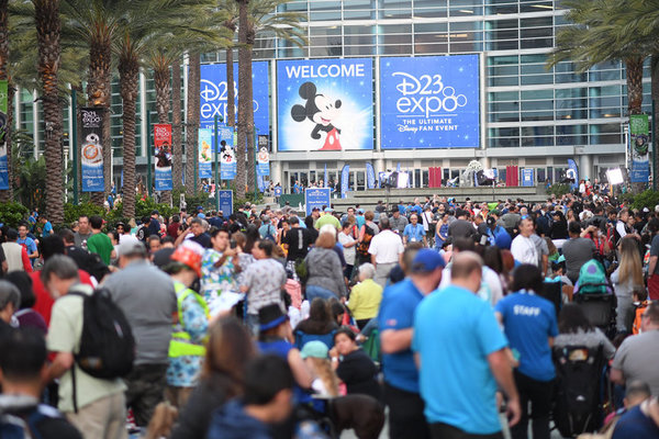 Photo Flash: First Look - The D23 Expo Kicks Off In Anaheim, California