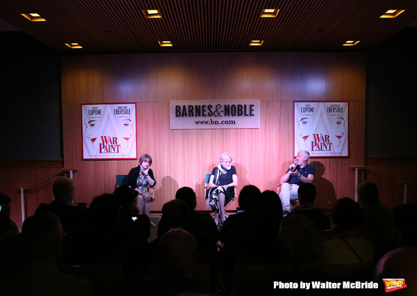 Patti LuPone & Christine Ebersole and Scott Frankel Photo