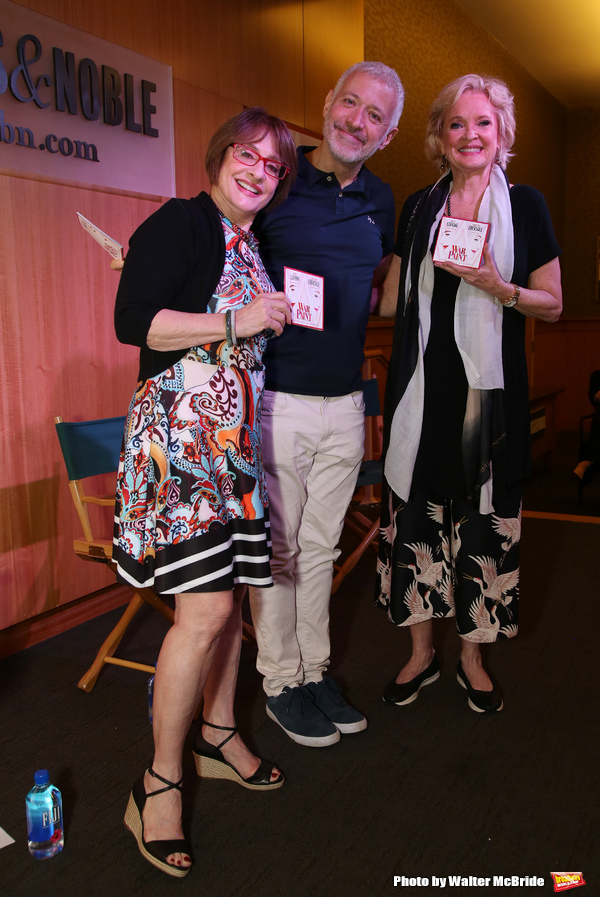 Patti LuPone, Scott Frankel & Christine Ebersole  Photo