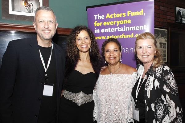 Keith McNutt, Erica Gimpel, Debbie Allen, Meg Thomas Photo