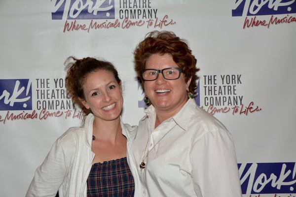 Andrea Prestinario and Klea Blackhurst Photo