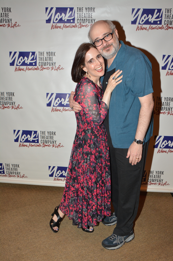 Stephanie D'Abruzzo and Craig Shemin