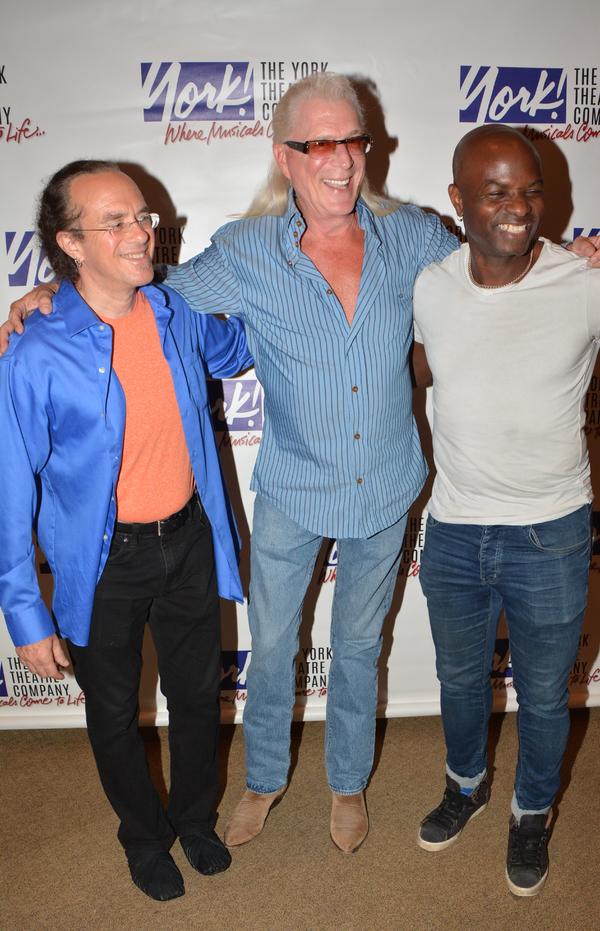 Rex Benincasa, Ron Abel and Richie Goods
