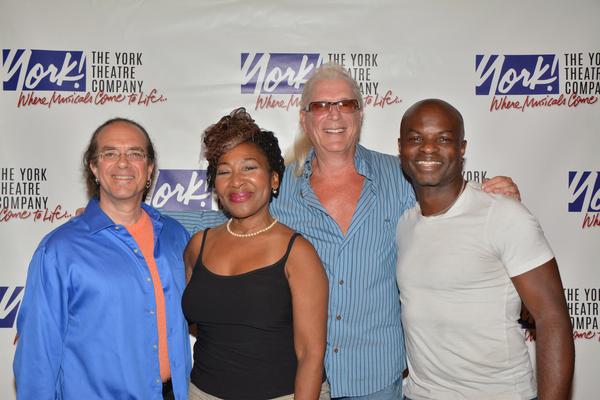 Rex Benincasa, Andrea Frierson, Ron Abel and Richie Goods Photo