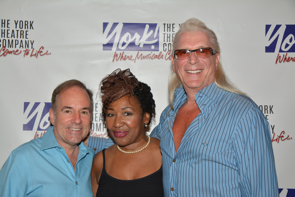 Stephen Flaherty, Andrea Frierson and Ron Abel