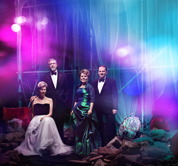 Janie Dee, Philip Quast, Imelda Staunton and Peter Forbes