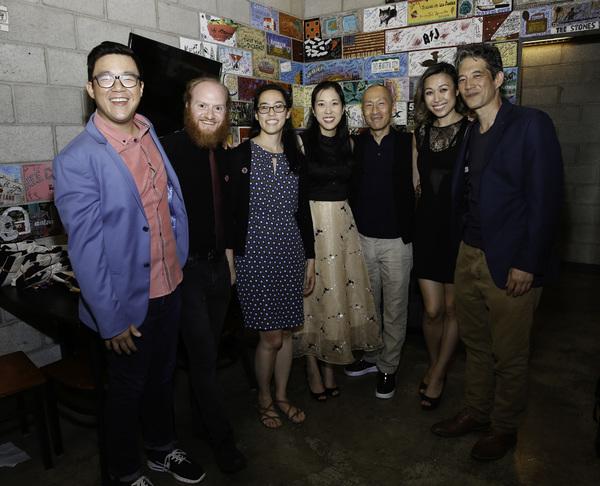 Rammel Chan,  Joshua Kahan Brody, Lauren Yee and Stephenie Soohyun Park, Francis Jue, Angela Lin and Daniel Smith