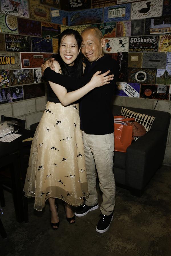 Cast members Stephenie Soohyun Park and Francis Jue
