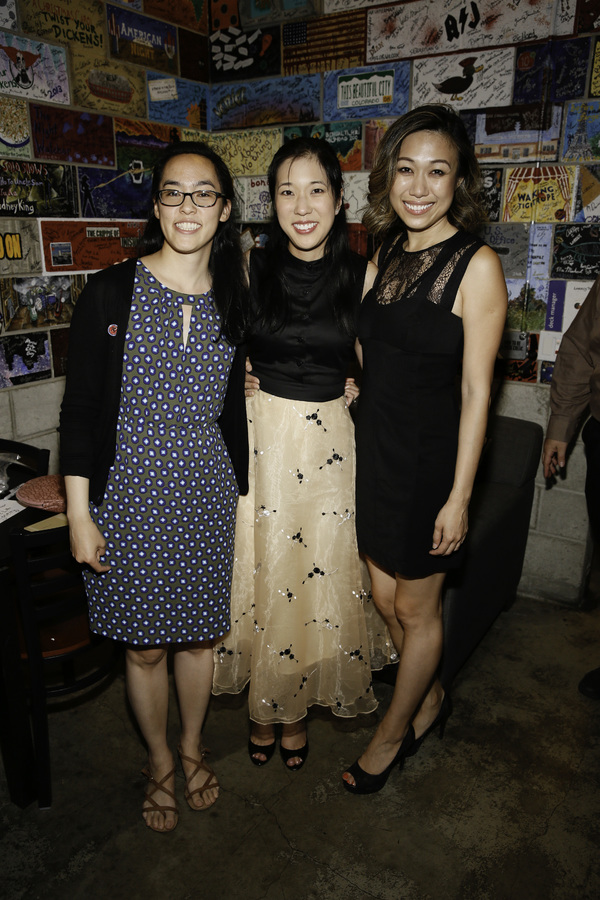 Photo Flash: George Takei and More Celebrate KING OF THE YEES Opening at the Douglas