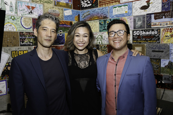 Daniel Smith, Angela Lin and Rammel Chan