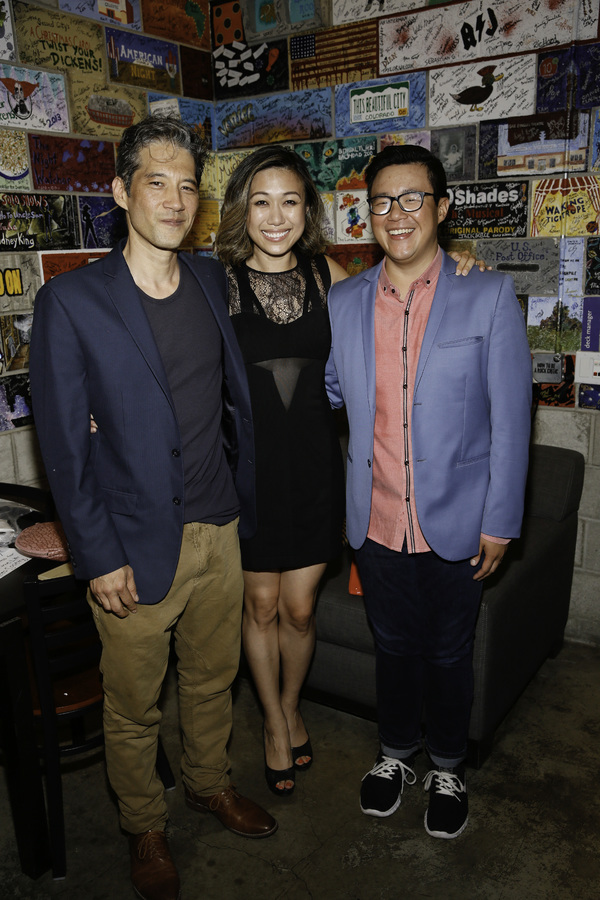 Cast members Daniel Smith, Angela Lin and Rammel Chan