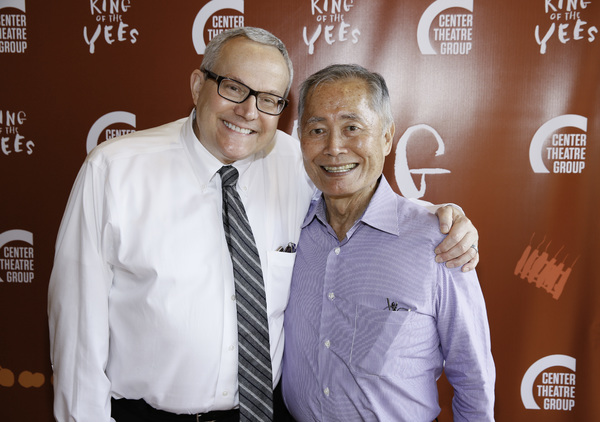 Brad Takei and George Takei
