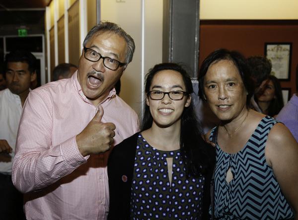 Larry Yee, Lauren Yee and Denise Yee