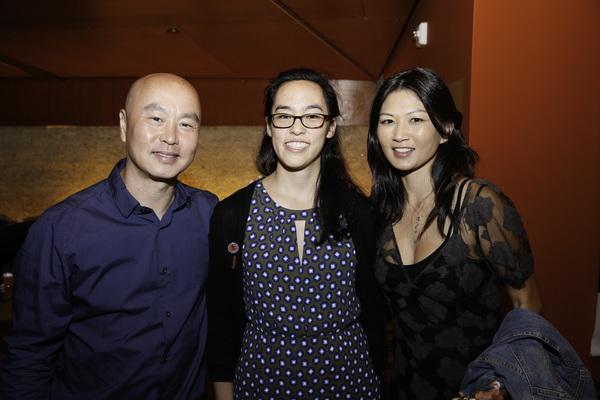 C.S. Lee, Lauren Yee and Michelle Krusiec
