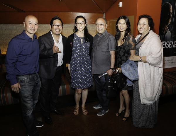 C.S. Lee, Kenny Yee, Lauren Yee, Ernest Hiroshige and Michelle Krusiec and Amy Hill Photo