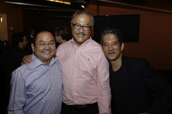 Aaron Takahashi, Larry Yee and Daniel Smith