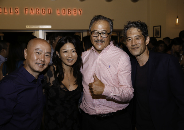 C.S. Lee and Michelle Krusiec, Larry Yee and Daniel Smith