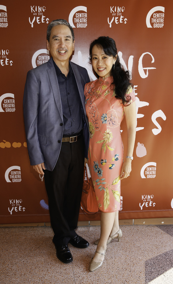 Stan Egi and Annie Yee Egi