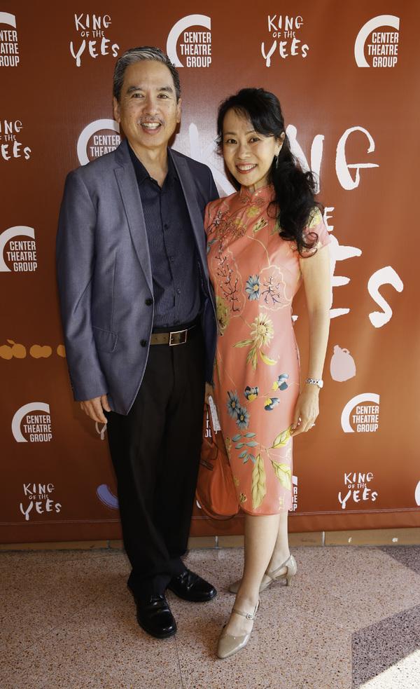 Stan Egi and Annie Yee Egi