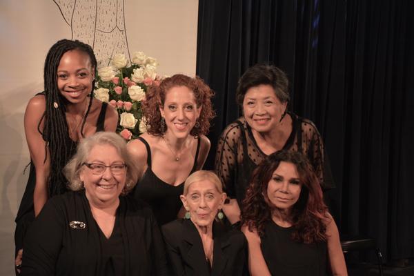Sheria Irving, Alison Cimmet, Mia Katigbak, Jayne Houdyshell, Sondra Lee and Daphne Rubin-Vega