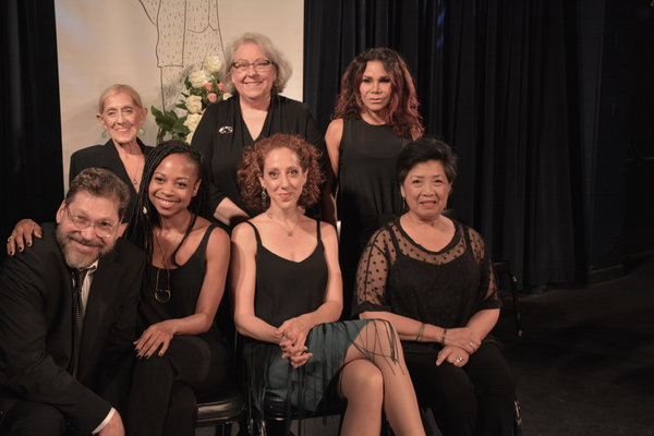 Sondra Lee, Jayne Houdyshell, Daphne Rubin-Vega, Sheria Irving, Alison Cimmet and Mia Katigbak are joined by  David Staller