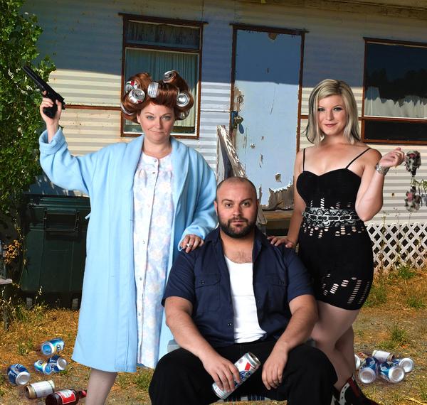 Cat Yates, Andrew Berlin, and Ellie Wyman